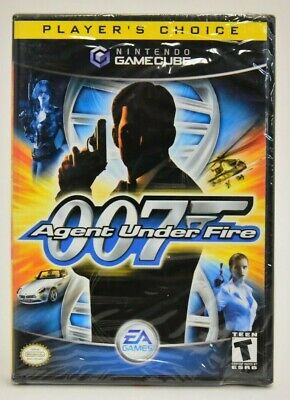 James Bond 007 in Agent Under Fire Player's Choice (Nintendo GameCube, 2003) NEW