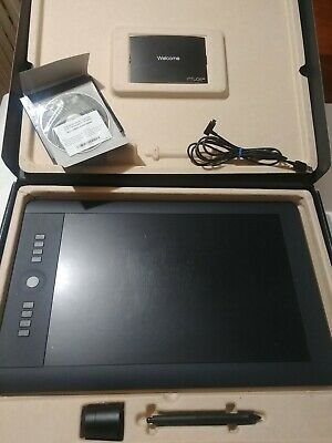 Wacom Intuos Pro Graphic Tablet LARGE PTH851 Creative Pen with Carrying Case