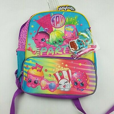 Shopkins Girls Backpack Pink NWT with Pack of Goodies Included New