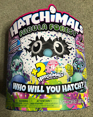 Hatchimals Fabula Forest Hatching Egg PUFFATOO + 2 Hatchimals CollEGGtibles