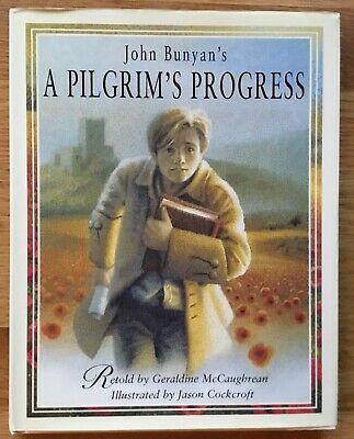 VG 1999 HC DJ First Edition Pilgrims Progress John Bunyan Art by Jason Cockcroft