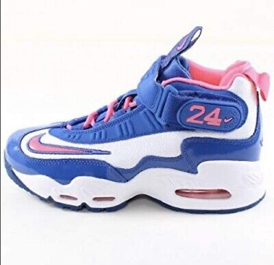2012/13 Nike Air Griffey Max Size 6Y Blue/Pink/White Strap Mesh (552983-100)