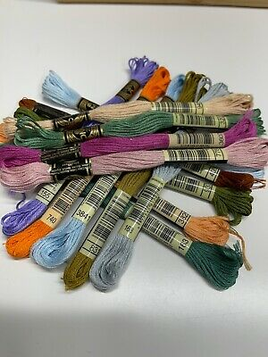 15 X BRAND NEW  DMC Stranded Cotton thread YOU CHOOSE YOUR COLOURS.