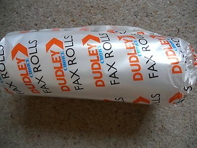 Roll of FAX paper, still wrapped.