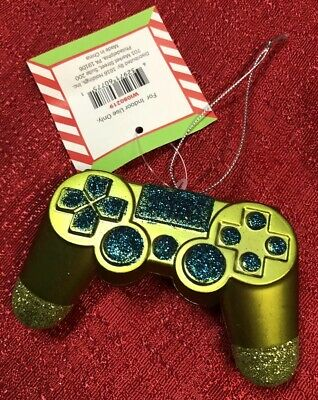 Video Gaming Controller Game System Christmas Holiday Ornament