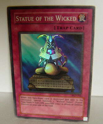 Statue of the Wicked  Pharaonic Guardian -- PGD-046 (Super Rare)  Yugioh