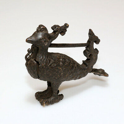 Scarce-Medieval Islamic Peacock Shaped Lock-Wearable - Ca 1400-1600 Ad