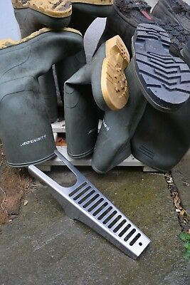 Welly boot remover - heavy duty - stainless steel - great late Christmas present