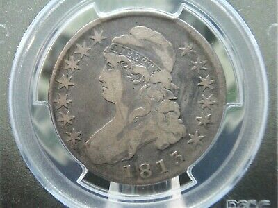 1813 Capped Bust Half Dollar 50c PCGS VG10 East Coast Coin & Collectables, Inc.