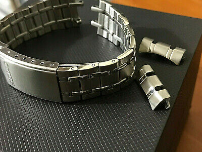 Seiko 19mm bellmatic,sports,diver mens watch bracelet strap curve lug band new