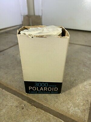 Polaroid Land Picture Roll 3000 Speed Type47 Very High Speed Film Black & White