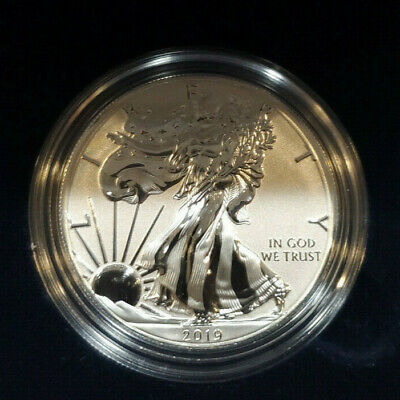 American Eagle 2019-S One Ounce Silver Enhanced Reverse Proof Coin #16791