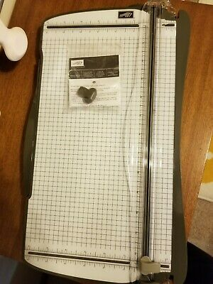 Stampin Up Paper Trimmer Cutter w/New Track and Blades