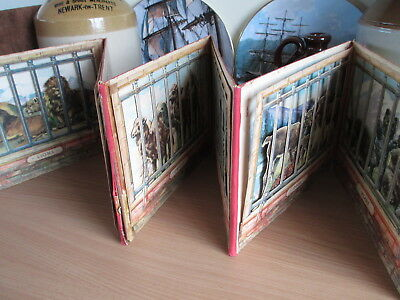 SUPER RARE VINTAGE Panoramic Pictures at the Zoo HARDCOVER POP-UP BOOK No. 9910