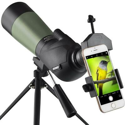 Gosky 20-60x60 HD Spotting Scope with Tripod, spotting scope