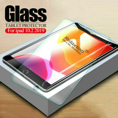 Tempered Glass Screen Protector For Apple iPad 10.2 (2019) 7th Generation Clear
