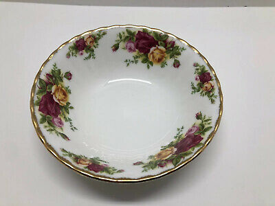 """Royal Albert Old Country Roses 6"""" All-Purpose Bowl Cereal Dessert Rice"""
