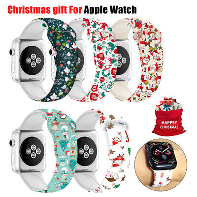 Silicone Band Strap For Apple Watch 1/2/3/4/5 iWatch Sports Series 38/42/40/44mm