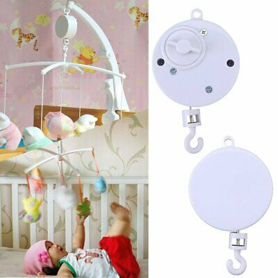 Baby Crib Mobile Bed Cot Bell Toy Holder Arm Bracket Hanging Music Box DIY Toys