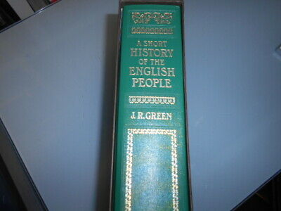 A Short History of the English People by J R Green. Folio Society. HC slipcase