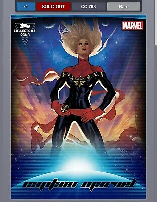 Topps Marvel Collect digital insert as pictured
