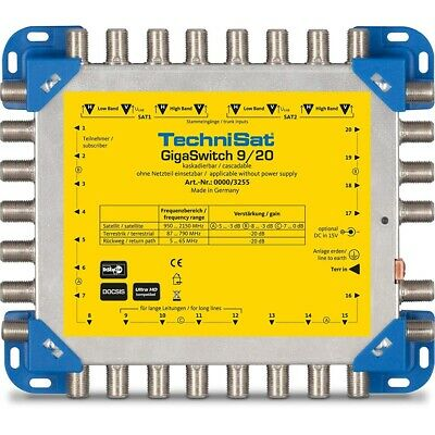 Technisat GigaSwitch 9/20 Multischalter