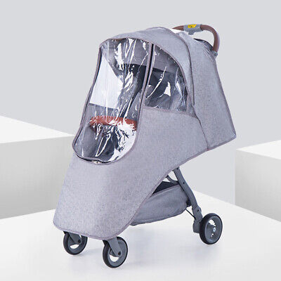 Universal Buggy Rain Cover Raincover For Baby Pushchair Stroller Pram Waterproof