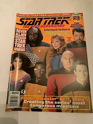 1993 Star Trek The Next Generation Magazine Volume 23
