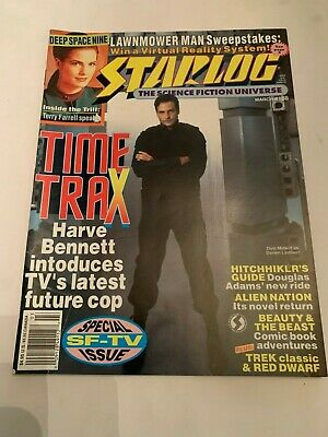 1993 Starlog The Science Fiction Universe Magazine Number 188