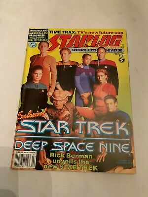 1993 Starlog Magazine Number 187 Star Trek Deep Space Nine