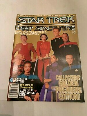 1993 Star Trek Deep Space Nine Magazine Volume 1