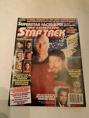 1994 The Complete Star Trek Superstar Facts & Pic Magazine Number 31