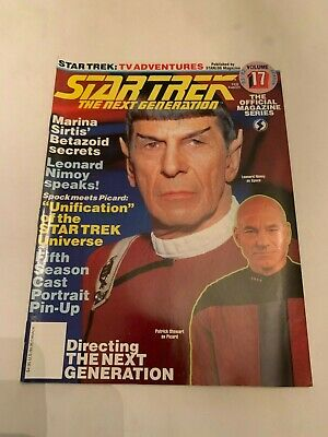 1991 Star Trek The Next Generation Magazine Volume 17