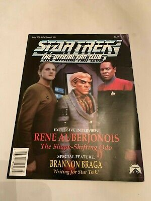 1993 Star Trek The Official Fan Club Magazine Issue 92