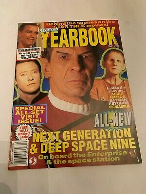 1993 Starlog Magazine Number Volume 11 Star Trek Next Generation Deep Space Nine