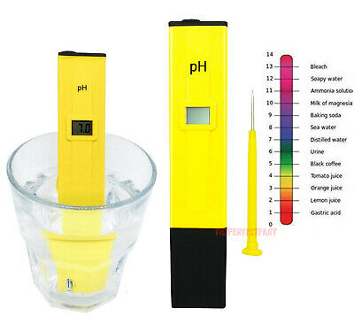 Digital Electric PH Meter LCD Tester Pocket Hydroponics Aquarium Water Test Pen