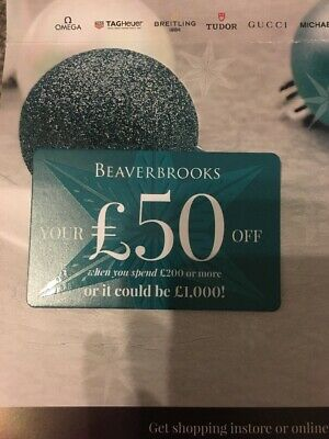 £50 Beaverbrook Gift Card