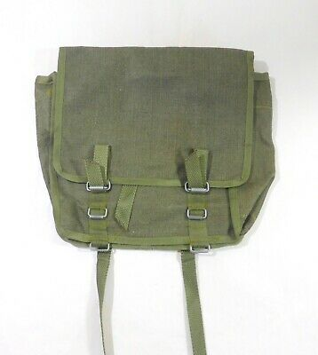 Polish Army Canvas Bag Military Surplus Olive Green Pouch  - Not Issued NOS