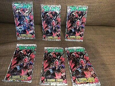 Sealed 6-Pack Lot of 1995 Wildstorm Todd McFarlane's Spawn Cards