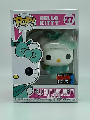 **IN HAND** NYCC 2019 Fall Convention Funko Pop! HELLO KITTY Lady Liberty #27