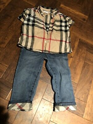 boys burberry age 2