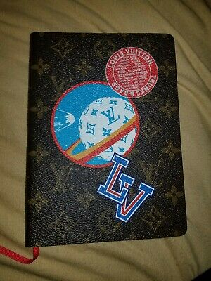 Louis Vuitton Clemence Varsity Notebook NWT