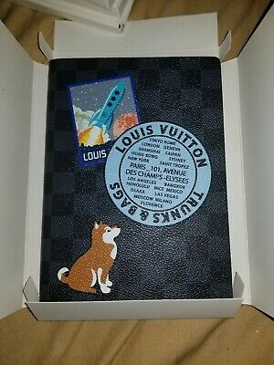 Louis Vuitton Clemence Notebook Graphite Varsity Nwt