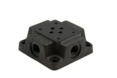 Chief D03 Subplate SAE 6 Side Ports, 5000 PSI, 5 Nominal GPM, 220424