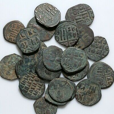 Top Lot Of 22 Large Byzantine Bronze Coins-Various Anonymous Follis