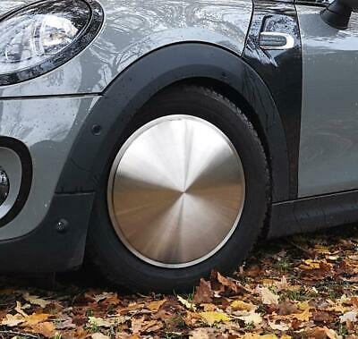 4x 15 inch Moon Cap wheel cover stainless steel classic mooncap classic car