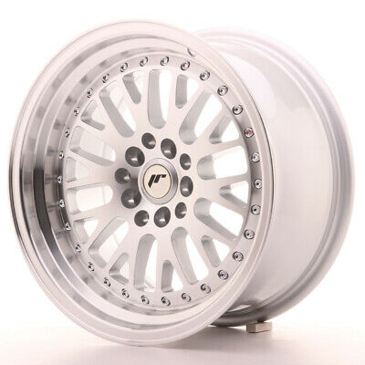 "108 Argento Un Cerchio in Lega Japan Racing JR10 15/"" x 8/"" ET20 4 x 100"