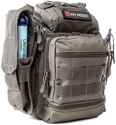 NEW My Medic Recon Advanced Emergency First Aid Kit Grey