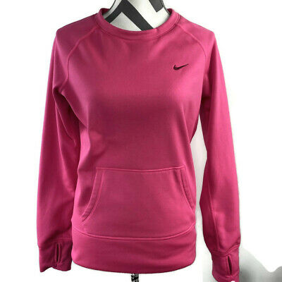 Details about Nike Therma Fit Womens All Time Script Fleece