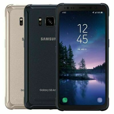 Samsung Galaxy S8 ACTIVE SM-G892A (AT&T Unlocked) G892 64GB Smartphone Gold/Gray